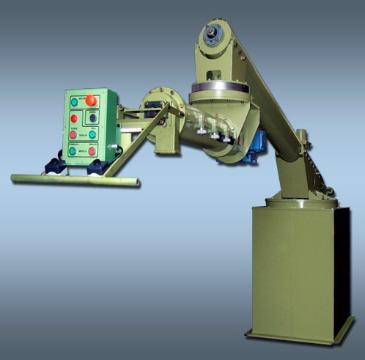 Turbomezcladora Continua Articulada GEROSA TMA 100