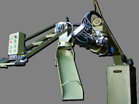 Turbomezcladora Continua Articulada GEROSA TMA 200